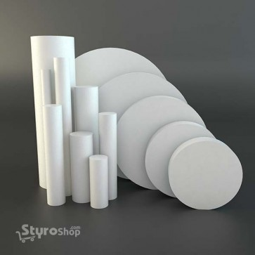Styro Discs & Cylinders